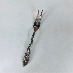 Sweden Lady With Fan Small Fork Pickle 4""